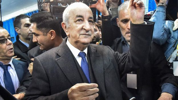 Algeria election: Fresh protests as Tebboune replaces Bouteflika