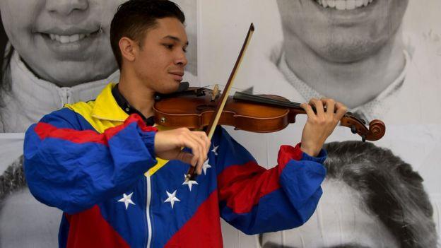 Venezolano en Bogotá
