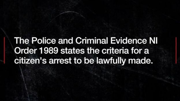 What is a citizen's arrest? - BBC News