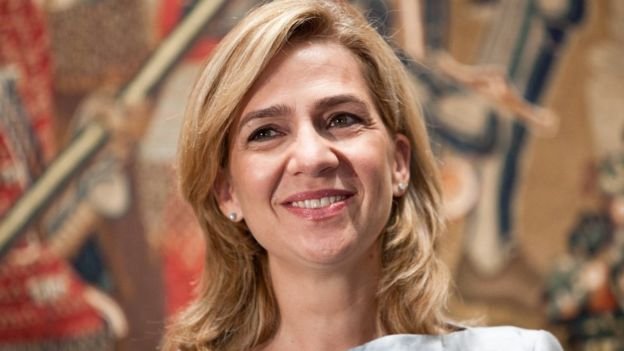 Princess Cristina of Spain attends the opening of an exhibition at the National Gallery of Art in Washington DC in September 2011