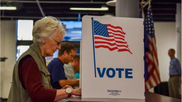 Votantes en Virginia