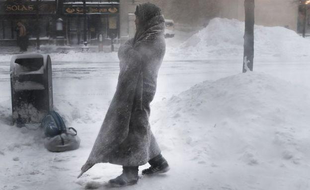 Бездомний у Бостоні