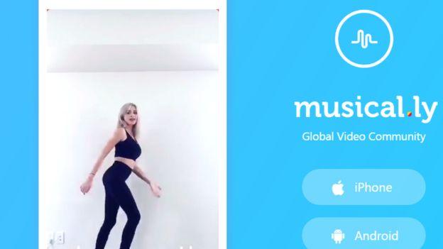 Musical.ly app