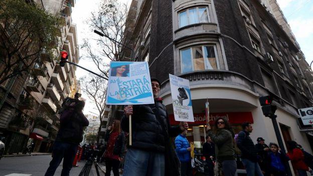 Seguidores de Cristina Kirchner