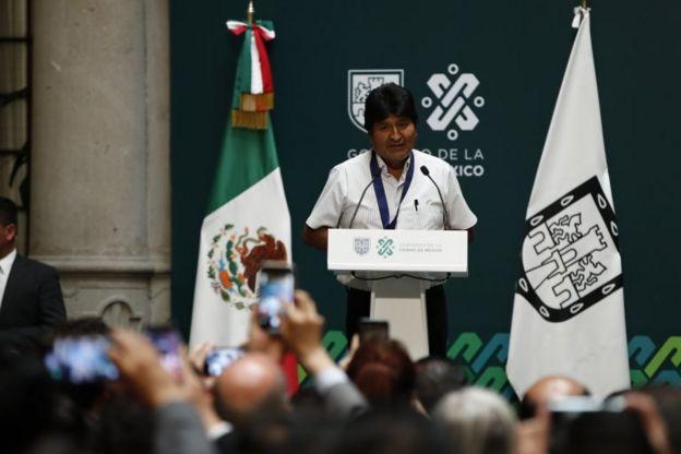 """Evo Morales se mostró dispuesto a volver para """"pacificar""""."""