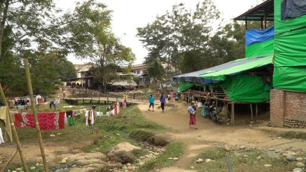localidad en el norte de Birmania.
