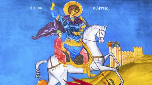 St George's Day: Who was England's patron saint? - BBC News