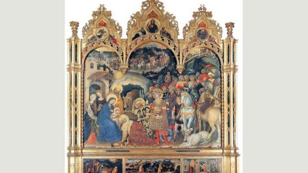 """""""La Adoración de los Magos"""" (1423)"""