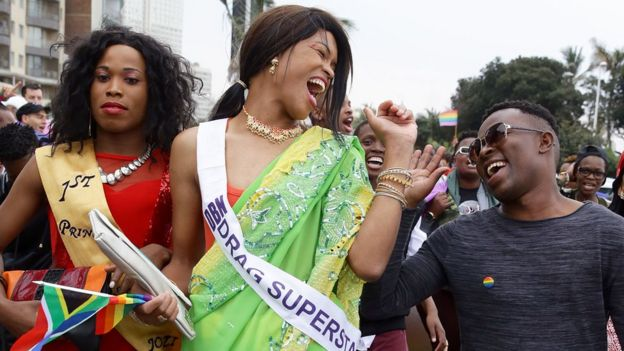 Gay Pride Parade in Durban, 2015