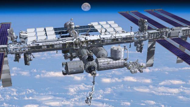 La estación Espacial Internacional tuvo durante un tiempo dos canciones de los Beatles como banda sonora. Foto: NASA