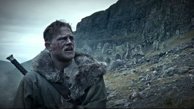Charlie Hunnam as Arthur in new film