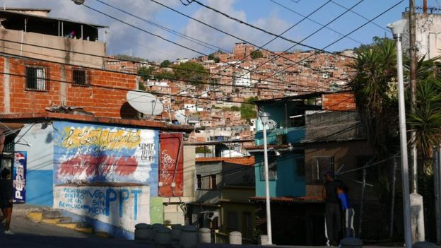 The neighbourhood of Petare