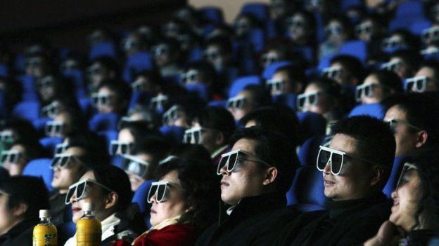 中國電影院觀眾