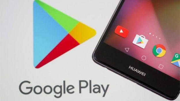 Logo de Google Play.