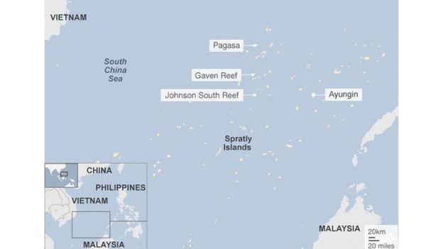Pagasa (Thị Tứ) là đảo lớn nhất trong 18 đảo ở quần đảo Trường Sa