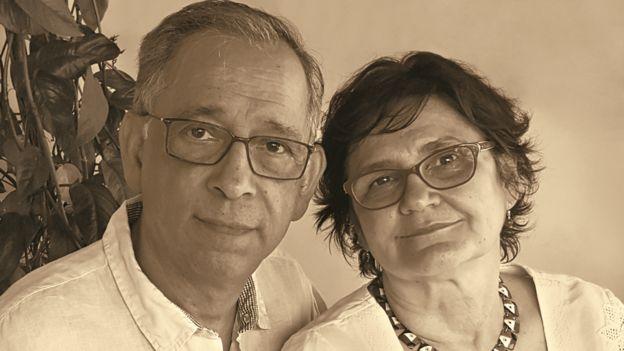 Pablo Diener e Maria de Fátima Costa