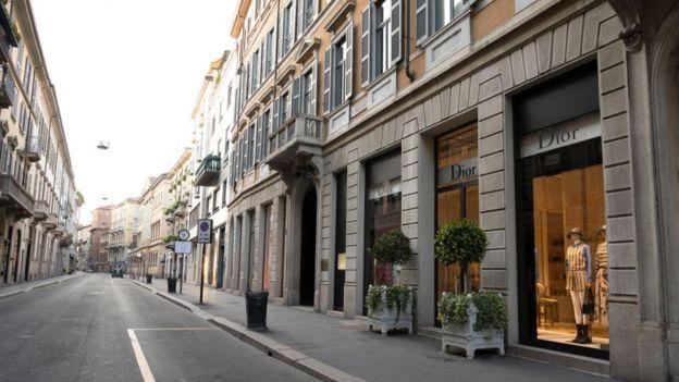 Calle en Roma