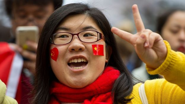 chinese people optimistic about the future says pew survey bbc news