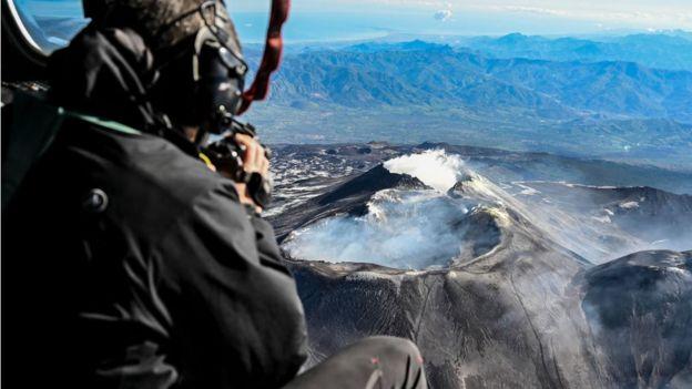 Вулкан Этна считается самым активным из ныне действующих
