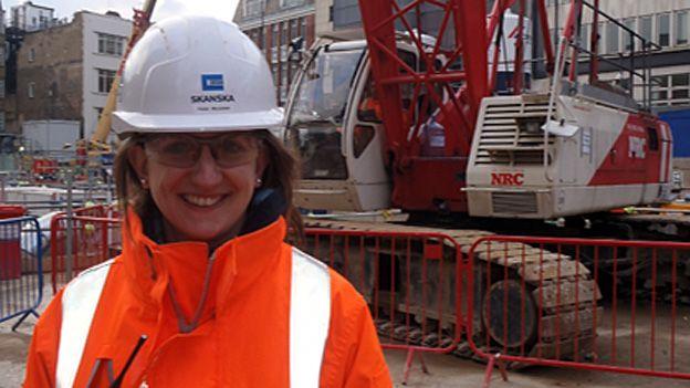 Helen Macadam on Crossrail project for Skanska