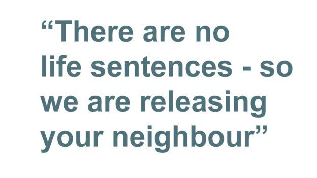 Quotebox: no hay frases de por vida, así que estamos liberando a su vecino.