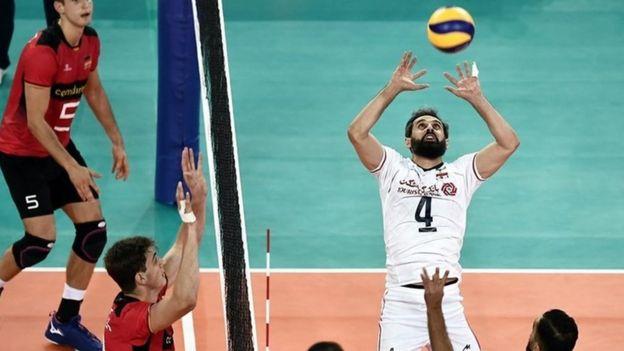 'فشار زیاد جمعیت' باعث مصدومیت چند بازیکن تیم ملی والیبال ایران شد