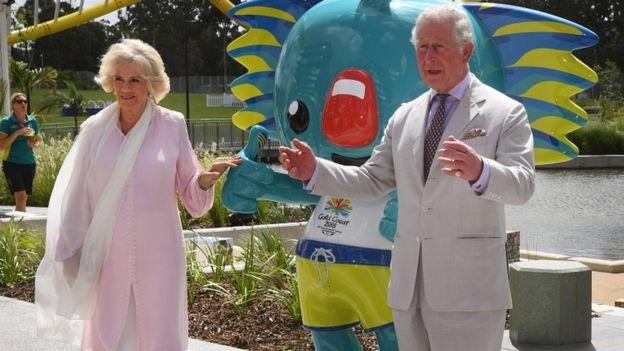 查爾斯和卡米拉在澳大利亞