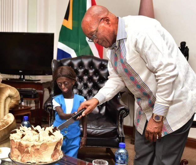Ontlametse Phalatse a célébré ses 18 ans en mars