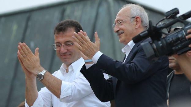 Ekrem İmamoğlu ve Kemal Kılıçdaroğlu