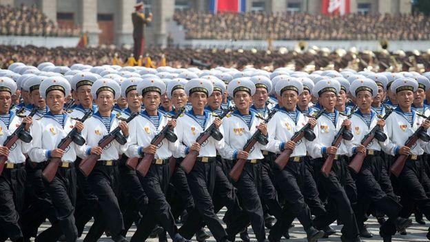 Marinos norcoreanos