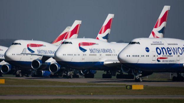 British Airways уволит 12 тыс. человек