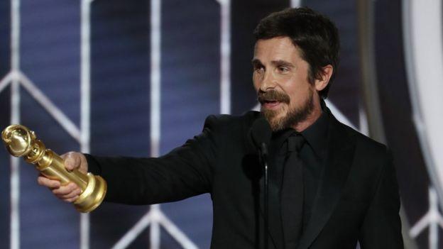En İyi Erkek Oyuncu ödülünü alan Christian Bale, Vice filminde eski ABD Başkan Yardımcısı Dick Cheney'i canlandırmıştı