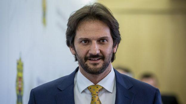 Ông Robert Kalinak từng là bộ trưởng nội vụ Slovakia cho đến tháng Ba 2018