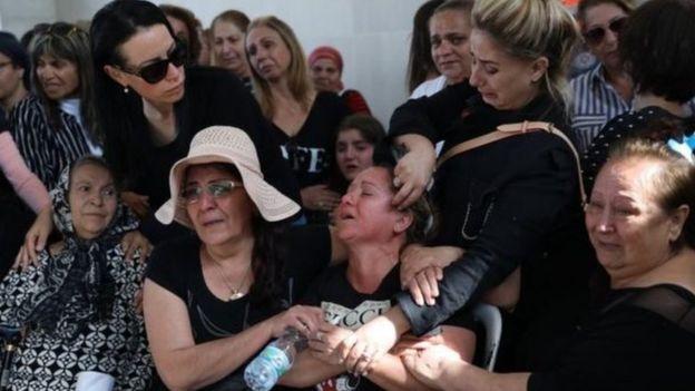 جنازة أحد القتلى الإسرائيليين