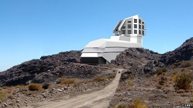 Rendering of the LSST