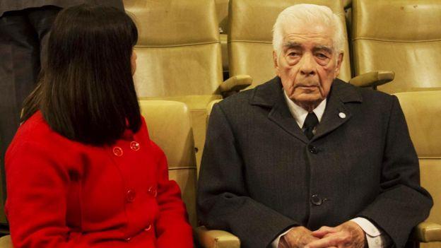 Mirta Graciela Anton y Luciano Menendez