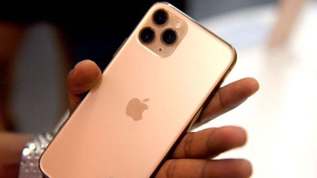 Camara del iPhone 11.
