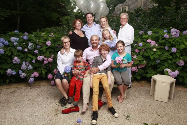 andrew solomon e a família