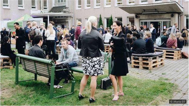 Mais de 160 start-ups estão localizadas no Maria 01, um antigo hospital reformado no Centro de Helsinque