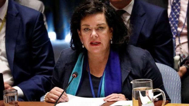Представитель Великобритании при ООН Карен Пирс призвала наказать Россию