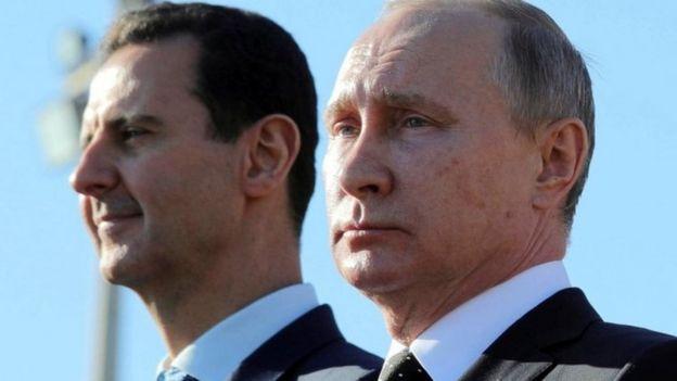Assad e Putin.
