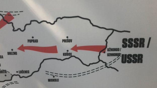 Мапа введення військ