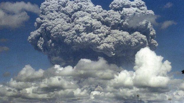 Erupção na Indonésia