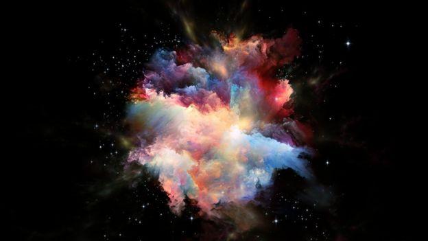 Ilustração do Big Bang