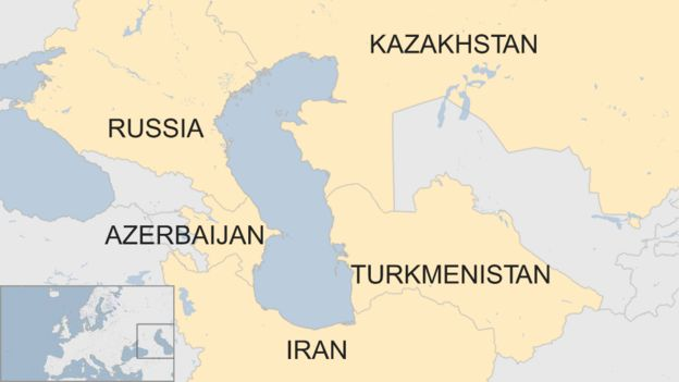 Caspian Sea: Five countries sign deal to end dispute - BBC News