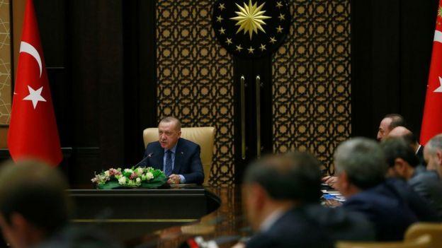 Recep Tayyip Erdoğan Reform Eylem Grubu toplantısı