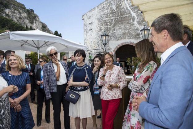 Sauer en la cumbre del G7 en Taormina