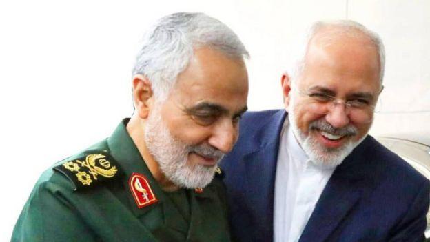 دوگانه ظریف-سلیمانی از جمله موضوعاتی است که در نگاه برخی مخالفان جمهوری اسلامی یک دوگانه جعلی و نتیجه ایرادهای ساختاری جمهوری اسلامی است