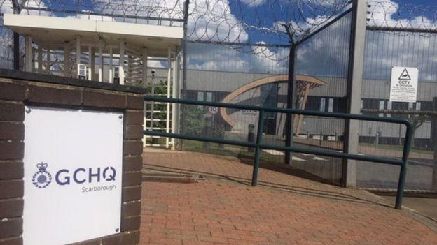 La base GCHQ en Scarborough