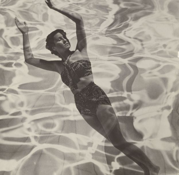 Dora Maar's Model in Swimsuit